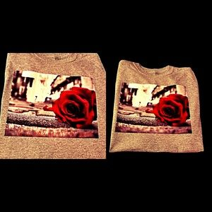 Other - Heartfelt Rose T-shirt